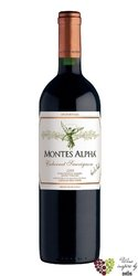 "Cabernet Sauvignon "" Montes Alpha "" 2017 la Finca de Apalta Santa Cruz viňa Montes  0.75 l"