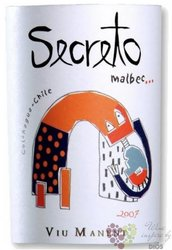 "Malbec "" Secret de Viu "" 2007 Chile Colchagua Valley DO Viu Manent     0.75 l"
