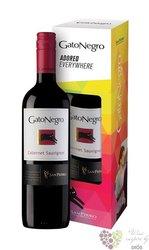 """Cabernet Sauvignon """" Gato Negro """" 2014 gift box Curico valley viňa San Pedro   0.75 l"""