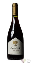 "Pinot noir "" Arboleda "" 2012 Colchagua valley Emiliana organic vineyards  0.75 l"