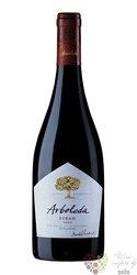"""Syrah """" Arboleda """" 2012 Colchagua valley Emiliana organic vineyards  0.75 l"""