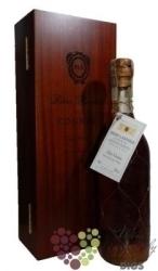 """Rémi Landier """" Vieux """" luxury wood box Fins Bois Cognac 40% vol.   0.70 l"""