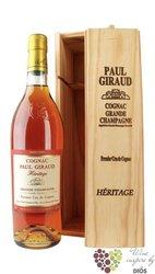 "Paul Giraud "" Heritage "" aged 50 years 1er Cru Grande Champagne Cognac Aoc 40% vol.    0.70 l"