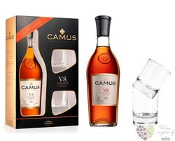 "Camus Elegance "" VS "" 2glass set Cognac Aoc 40% vol.  0.70 l"