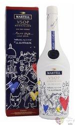 """Martell Paris style """" VSOP Medaillon """" old Fine Cognac Aoc 40% vol.  1.00 l"""