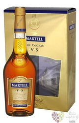 "Martell "" VS "" 2 glass pack Fine Cognac Aoc 40% vol.  0.70 l"