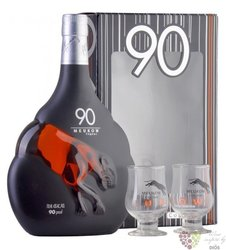"Meukow "" 90 Proof "" glass pack Cognac Aoc 45% vol.  0.70 l"
