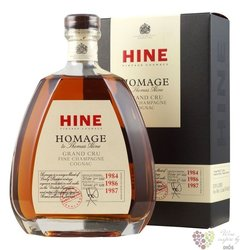 "Thomas Hine "" Homage 1984&86&87 "" Grand cru Fine Champagne Cognac 40% vol.  1.00 l"