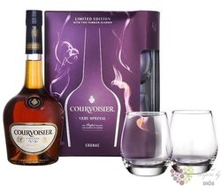 "Courvoisier "" VS "" 2glass pack ed. 2014 Cognac Aoc 40% vol.     0.70 l"