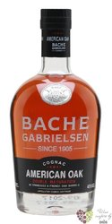 "Bache Gabrielsen "" American Oak "" Grande Champagne Cognac 40% vol. 1.00 l"