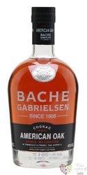 "Bache Gabrielsen "" American Oak "" Grande Champagne Cognac 40% vol. 0.70 l"