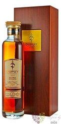 "Dupuy "" Extra "" wood box Fine Champagne Cognac 40% vol.    0.70 l"