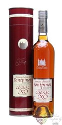 "Frapin "" XO domaine de Chateau Fontpinot "" Grande Champagne Cognac 40% vol.   0.35 l"
