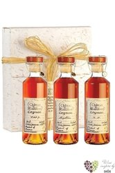 "The collection "" Cognac Chateau de Montifaud "" exclusive set of Cognac 40% vol.3 x 0.20 l"