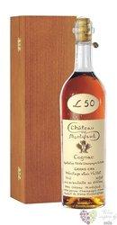 """Chateau de Montifaud """" Heritage de Louis Vallet """" wood box Petite Champagne CognacAoc 40% vol.0.70 l"""