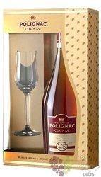 "Prince Hubert de Polignac "" VSOP "" glass pack fine Cognac Aoc 40% vol.0.70 l"