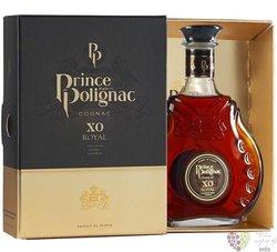 "Prince Hubert de Polignac "" XO Royal "" gift set fine Cognac Aoc 40% vol.  0.35 l"