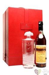 "Hardy privilege "" Lalique Caryota "" Grande Champagne Cognac 40% vol.    0.70 l"