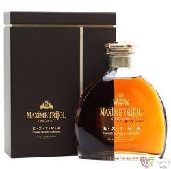 """Maxime Trijol """" Extra """" wood box 1er cru de Grande Champagne Cognac 40% vol.0.70 l"""