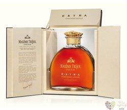 """Maxime Trijol """" Extra """" 1er cru de Grande Champagne Cognac 40% vol.    0.70 l"""