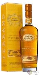 """Pierre Ferrand """" Ambre """" 1er Cru du Grande Champagne Cognac 40% vol.    0.70 l"""