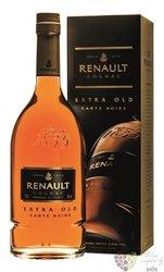 "Renault "" Carte Noir Extra old "" gift box Cognac Aoc 40% vol.  1.00 l"