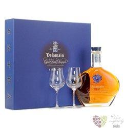 "Delamain "" XO Extra "" 2glass pack Grande Champagne Cognac 40% vol.    0.70 l"