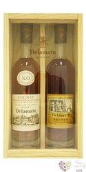 "Delamain "" XO Duo "" Grande Champagne Cognac 40% vol.   2x0.20 l"