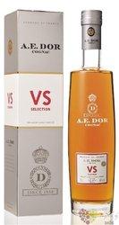 """A.E. Dor """" VS Selection """" Cognac Aoc 40% vol.   0.70 l"""