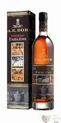 """A.E. Dor """" Embleme """" Cognac Aoc 40% vol.  0.70 l"""