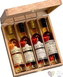 "A.E. Dor "" Coffret Tasting "" collection of Coagnac Aoc 40% vol.    4 x 0.20 l"
