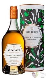 """Godet """" Gastronome organic """" Fine Champagne Cognac 40% vol.  0.70 l"""