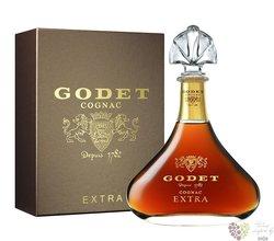 "Godet "" Extra Hors d´Age 45 ans "" Grand Champagne Cognac 40% vol.  0.70 l"