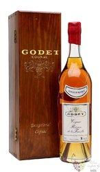 """Godet """" Réserve de la famille """" vieilles Borderies Cognac 40% vol.  0.70 l"""