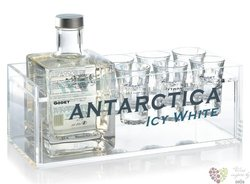"Godet "" Antarctica Icy white "" 6glass pack Cognac Aoc 40% vol.  0.50 l"