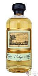 """Osokye """" no.54 """" single malt French whisky by Jean Godet 43% vol.  0.50 l"""