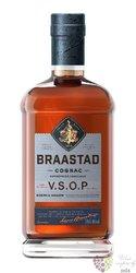 """Braastad """" VSOP réserve """" Cognac Aoc 40% vol.   1.00 l"""