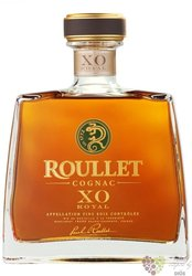 "Roullet "" XO Royal "" gift box Fin Bois Cognac 40% vol.  0.70 l"