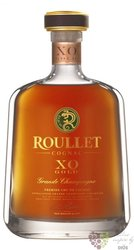 "Roullet "" XO Gold "" gift box Grande Champagne Cognac 40% vol.  0.70 l"