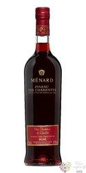 Pineau des Charentes rosé Aoc Cognac Menard 17% vol.  0.75 l