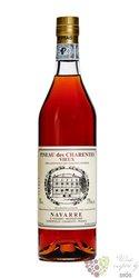 """Pineau des Charentes blanc """" Vieux """" Navarre 17% vol. 0.75 l"""