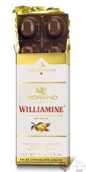"GoldKenn Liqueur Collection "" Morand Williamine "" Swiss chocolate bar  100g"