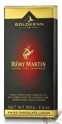 "GoldKenn Liqueur Collection "" Remy Martin "" Swiss chocolate bar  100g"