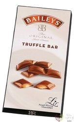 "Lir Chocolates Baileys "" Chocolate truffle Original "" Irish chocolate bar  90g"