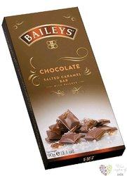 "Lir Chocolates Baileys "" Chocolate truffle Salted Caramel "" Irish chocolate bar  90"