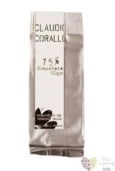 Claudio Corallo chocolate 75 %  50 g