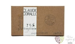 Claudio Corallo chocolate 75 %  500 g