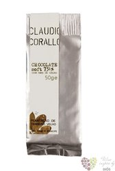 Claudio Corallo chocolate 73,5 % with pieces of cacao beans 50 g