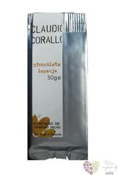 Claudio Corallo chocolate 70% with crystallized orange peels 50 g