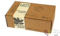Claudio Corallo chocolate 70% with crystallized ginger  160 g